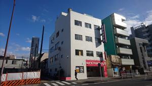 八王子市万町 ビル 改修工事のイメージ