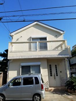 茅ヶ崎市美住町 外壁塗装+屋根塗装のイメージ
