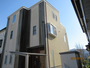 平塚市四之宮 外壁塗装 ガルバリウム鋼板 屋根カバー工法 八王子市